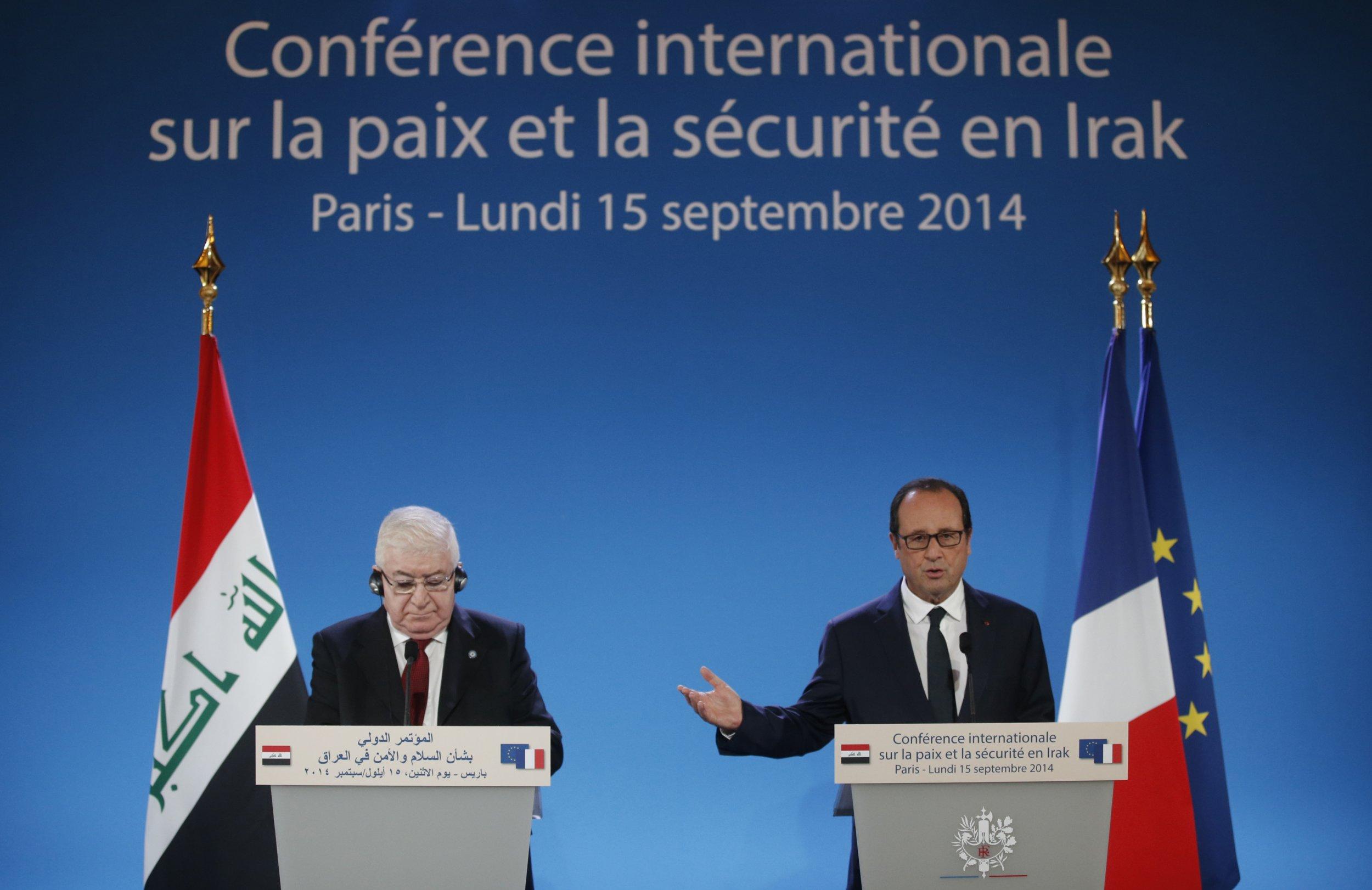 Hollande and Masum