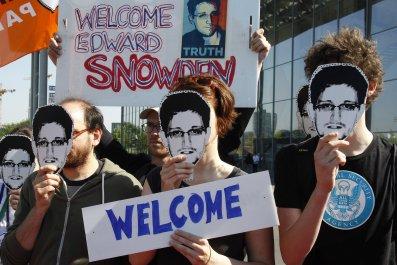Edward Snowden switzerland
