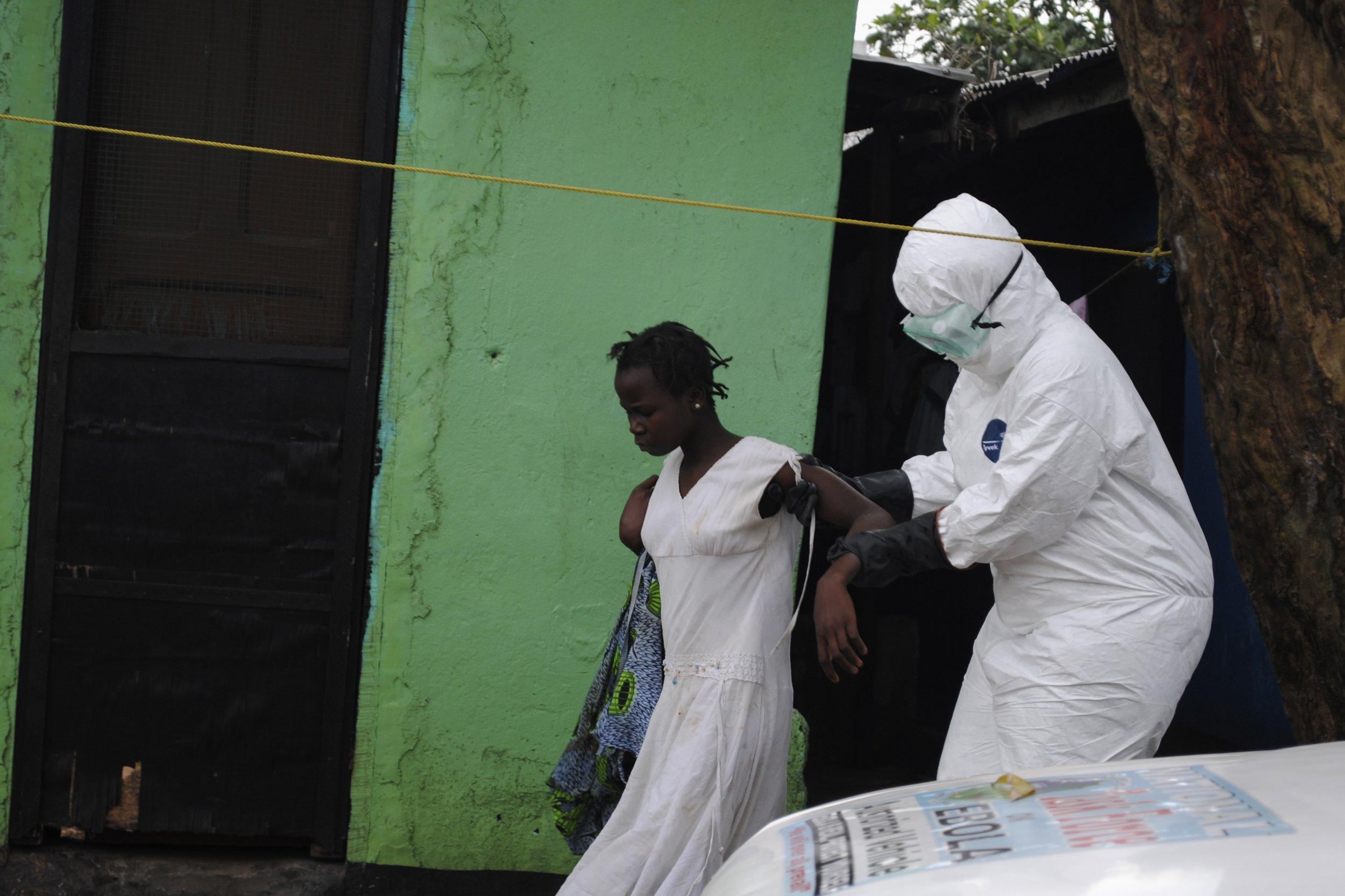 Ebola Patient September 15, 2014