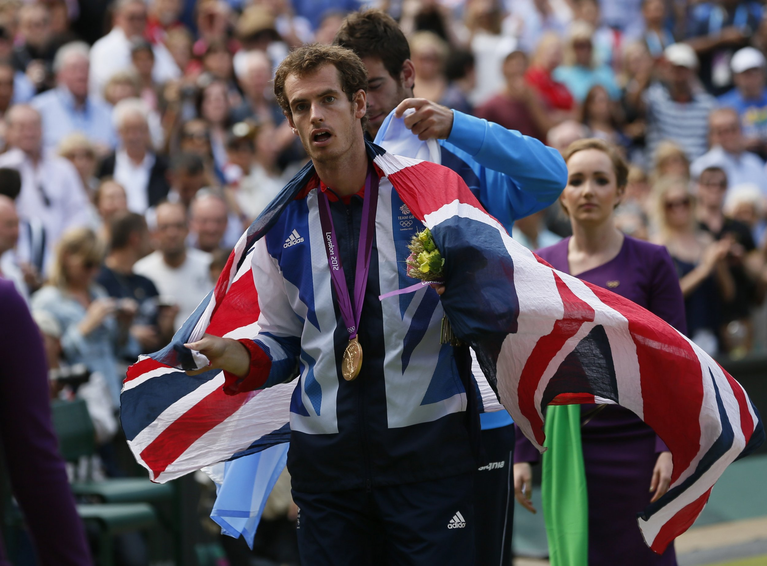 Andy Murray Union Jack