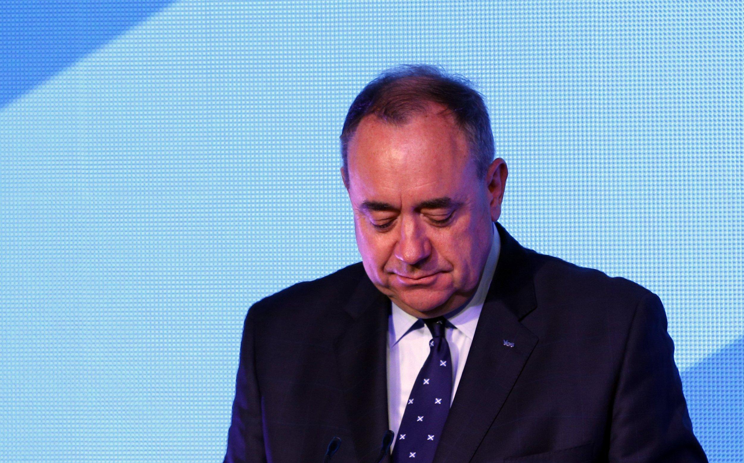 Scotland's First Minister Alec Salmond