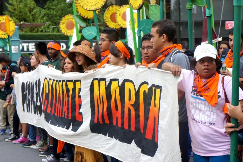 Climate March NYC