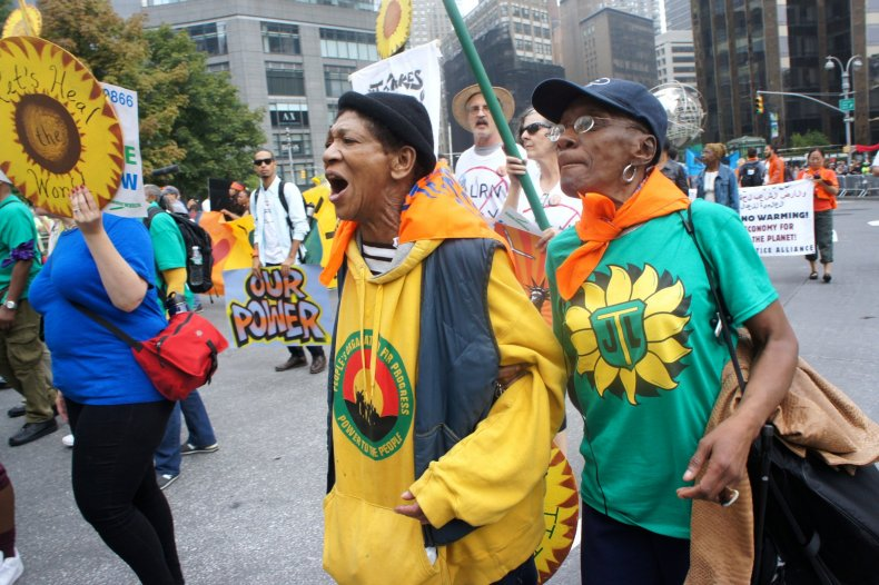 Climate March images