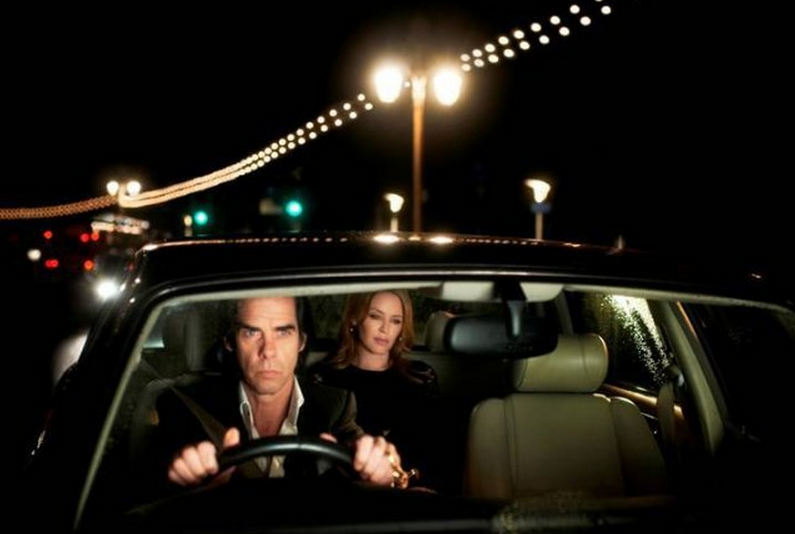 Nick Cave, with Kylie Minogue
