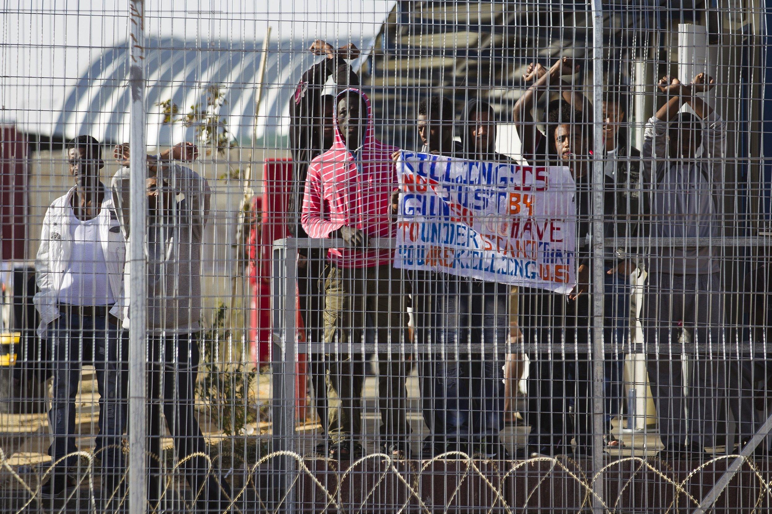 Holot detention center Israel