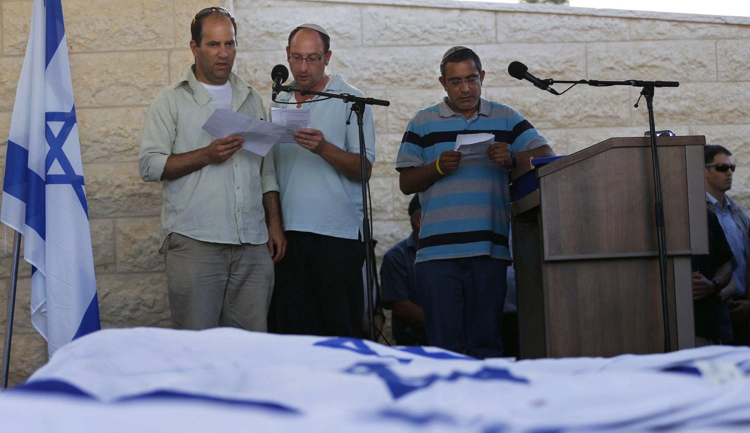 Israeli teens funeral