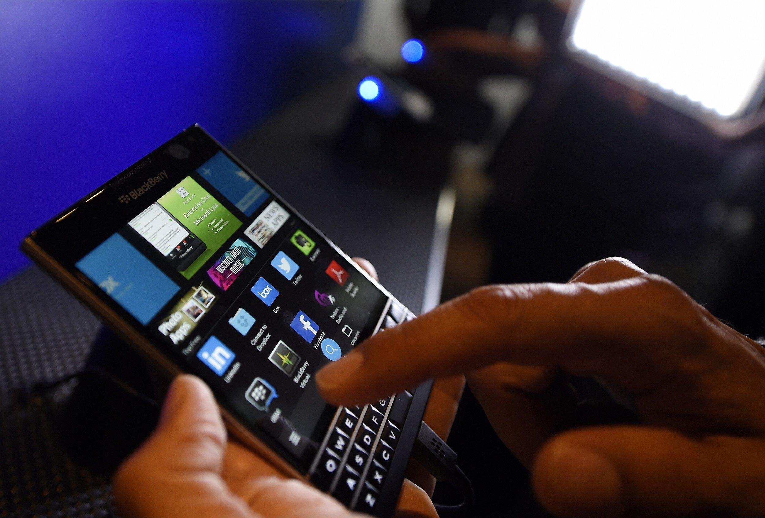 A BlackBerry Passport