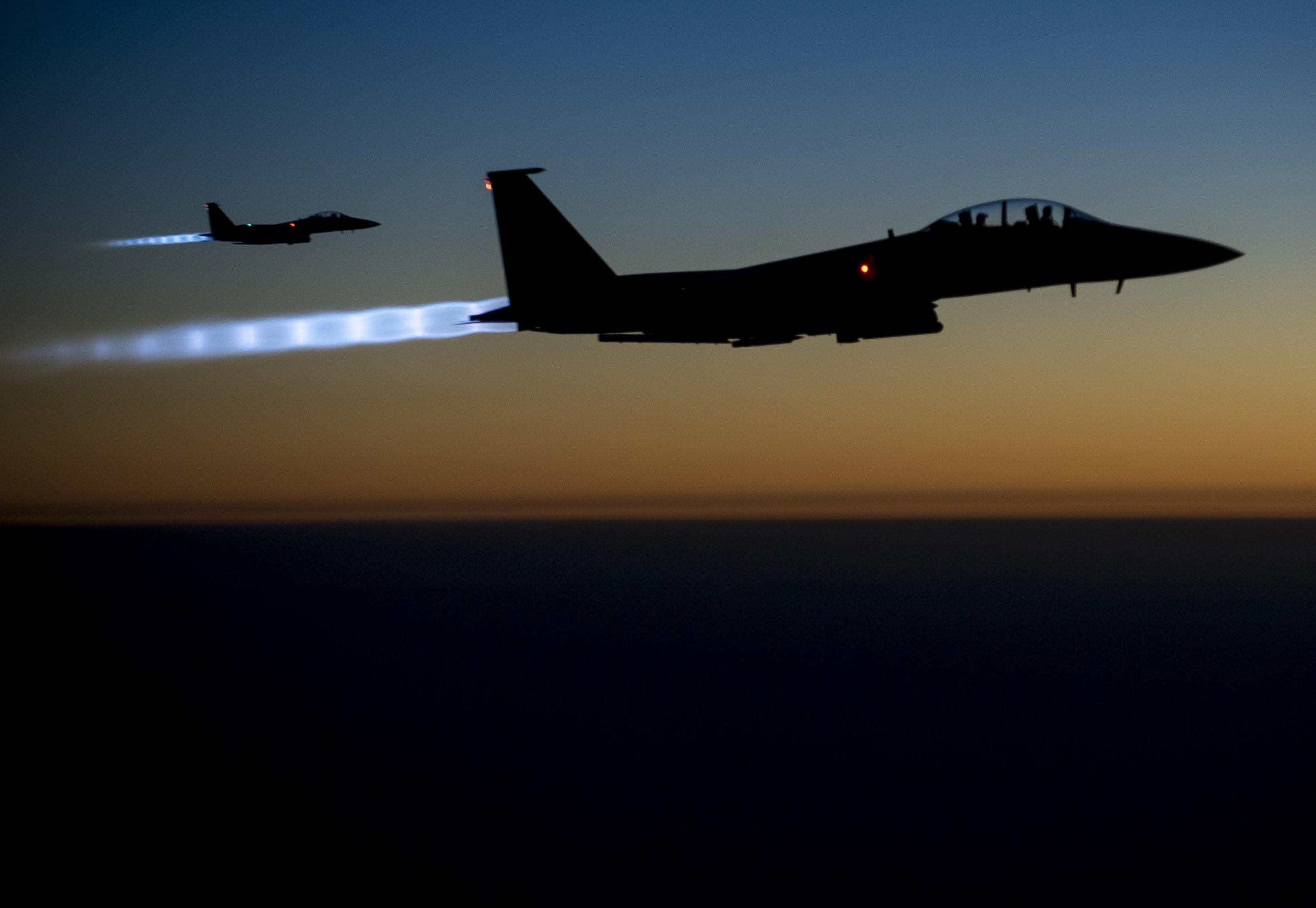 fighter jets us