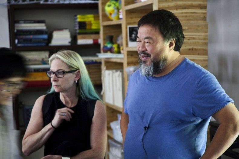 9-26-14 Ai Weiwei artist shot 2