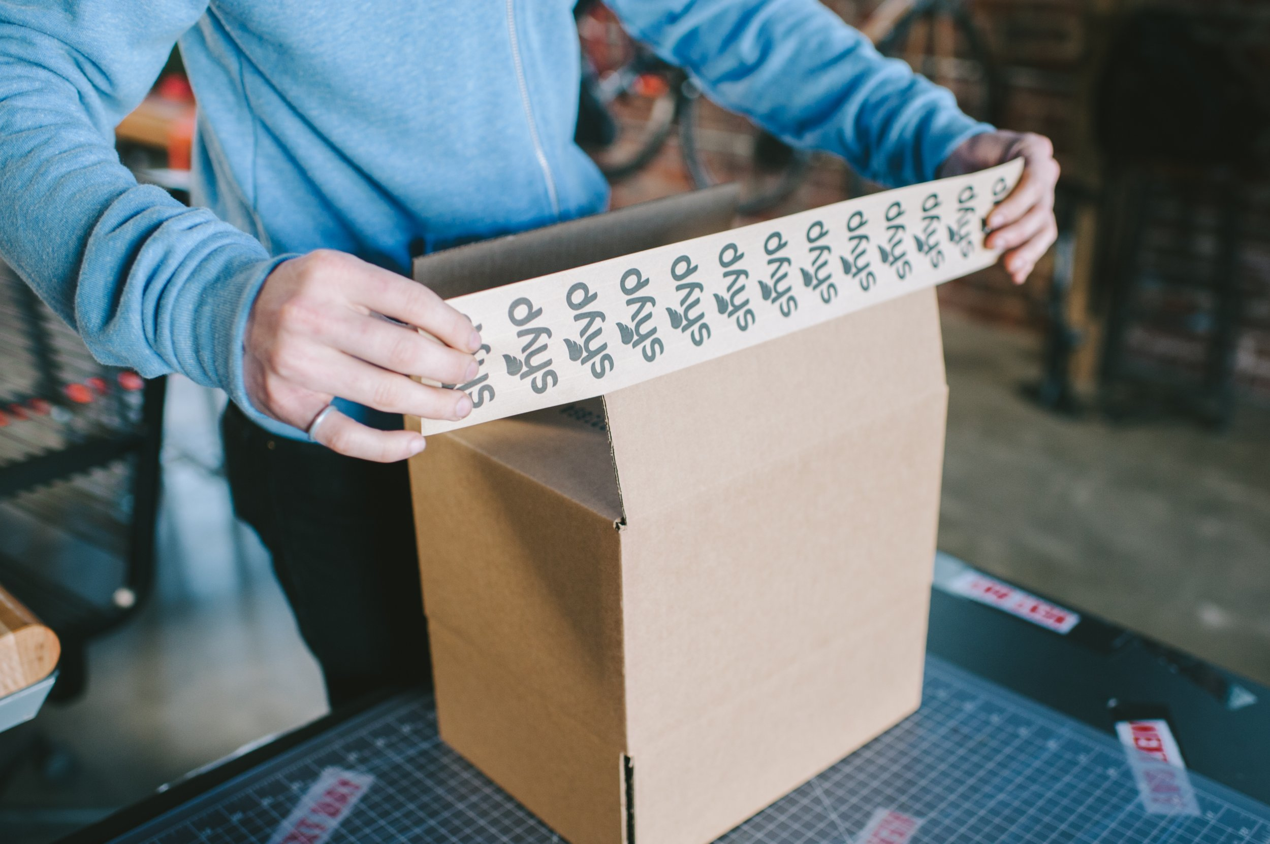 Shyp professionally packages items