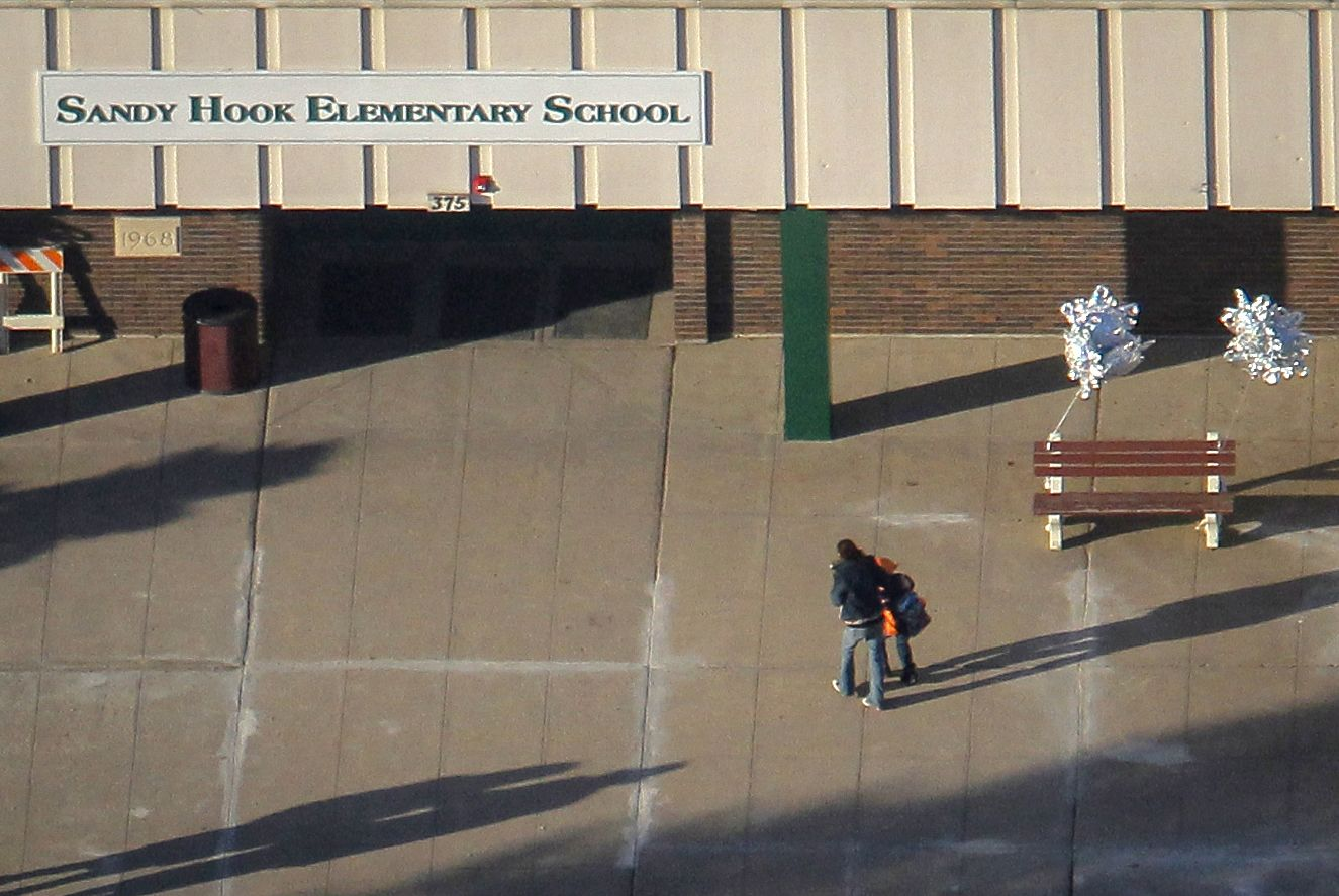 sandy hook elementary school essay Mary ann jacob was working in the library at sandy hook elementary school on the day that a gunman killed 20 children there.