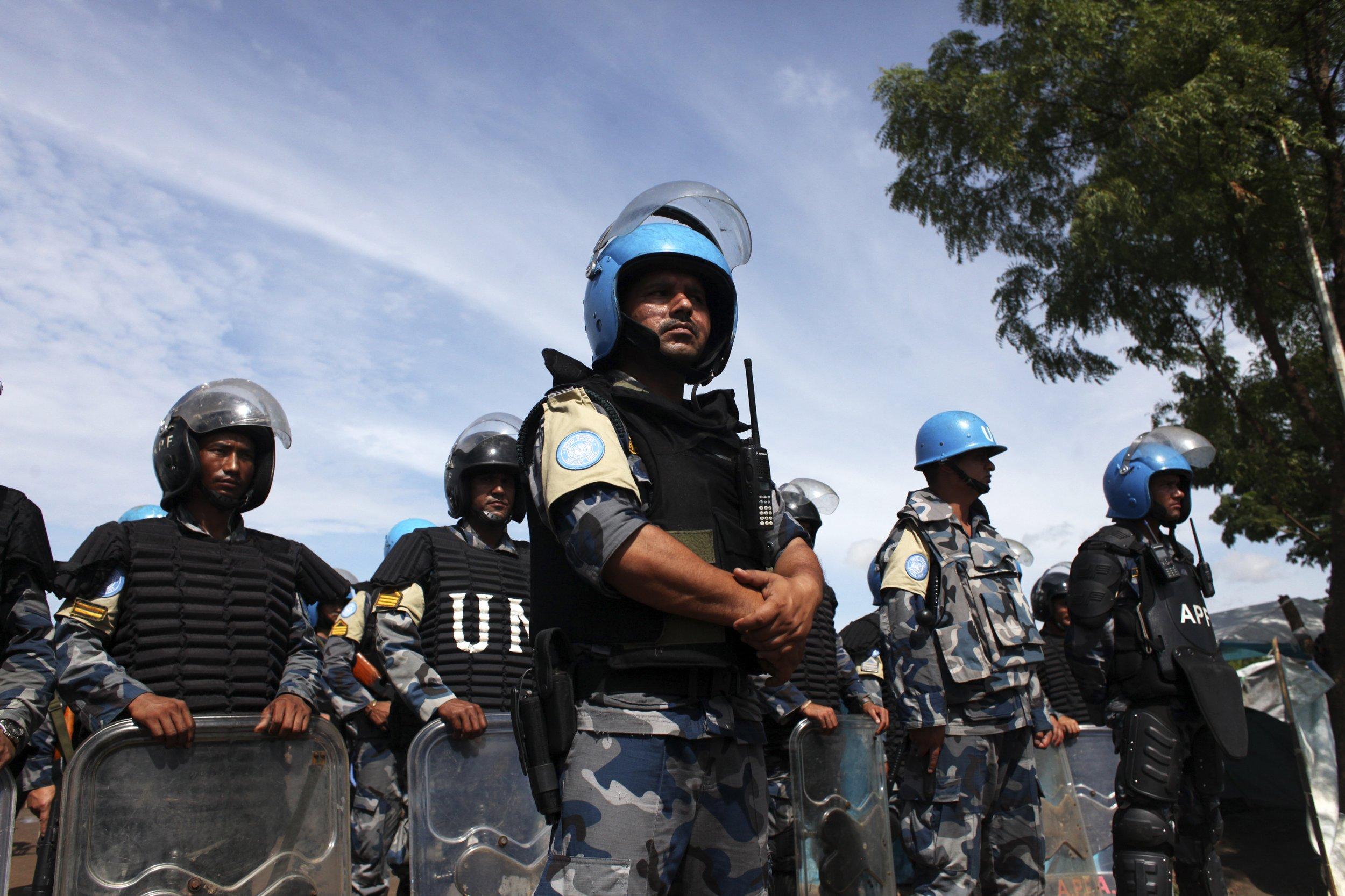 U.N. peacekeepers