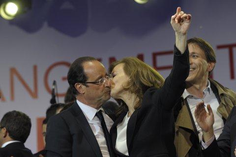 Hollande and Trierweiler