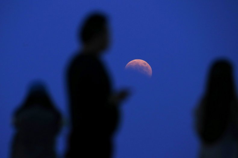 10-8-14 Lunar eclipse Shanghai tennis