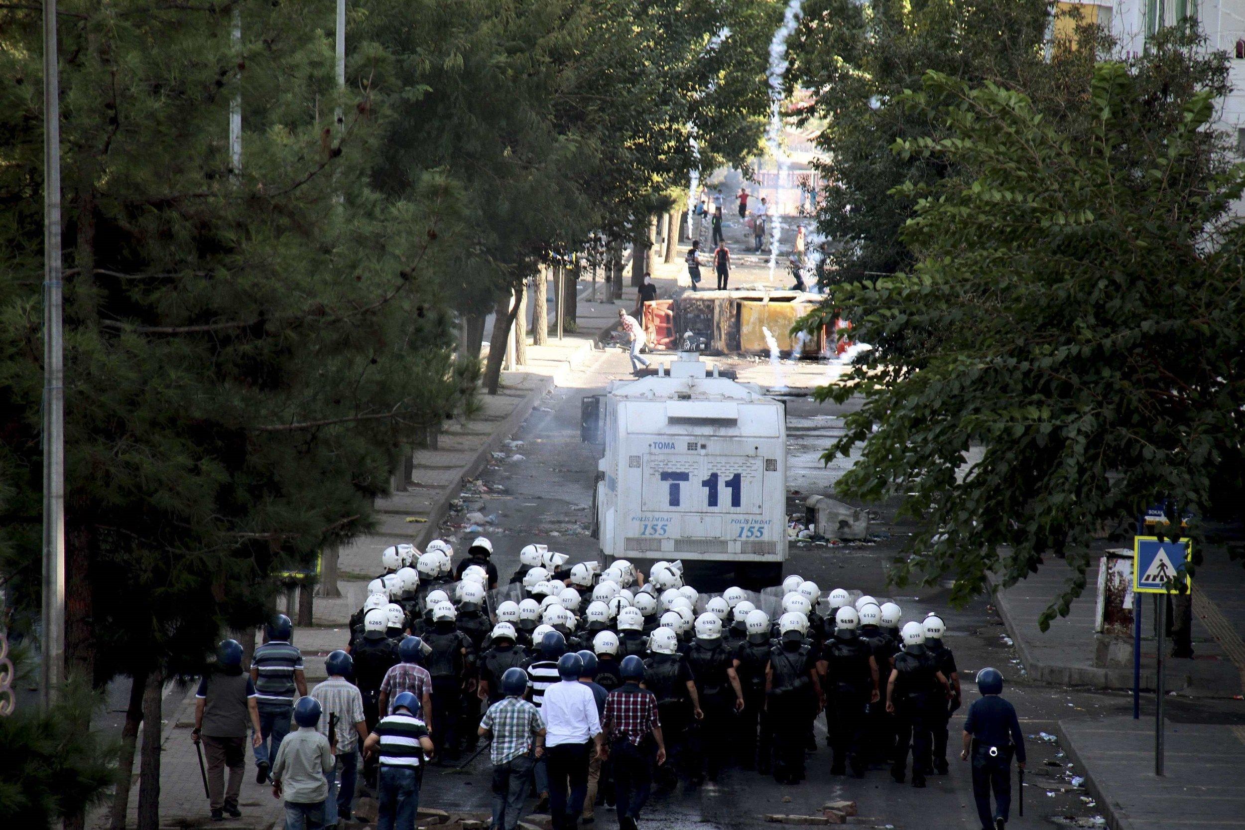 kurdish protests in turkey