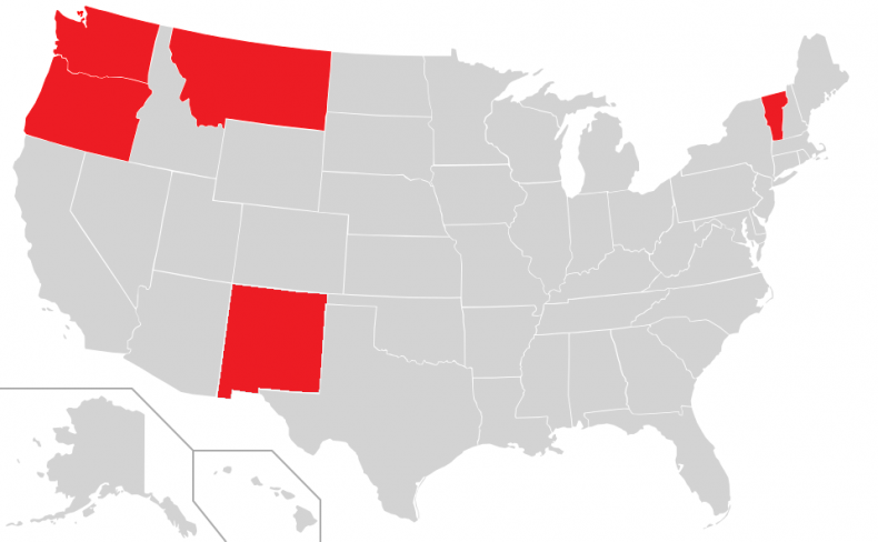 States that have physician-assisted suicide