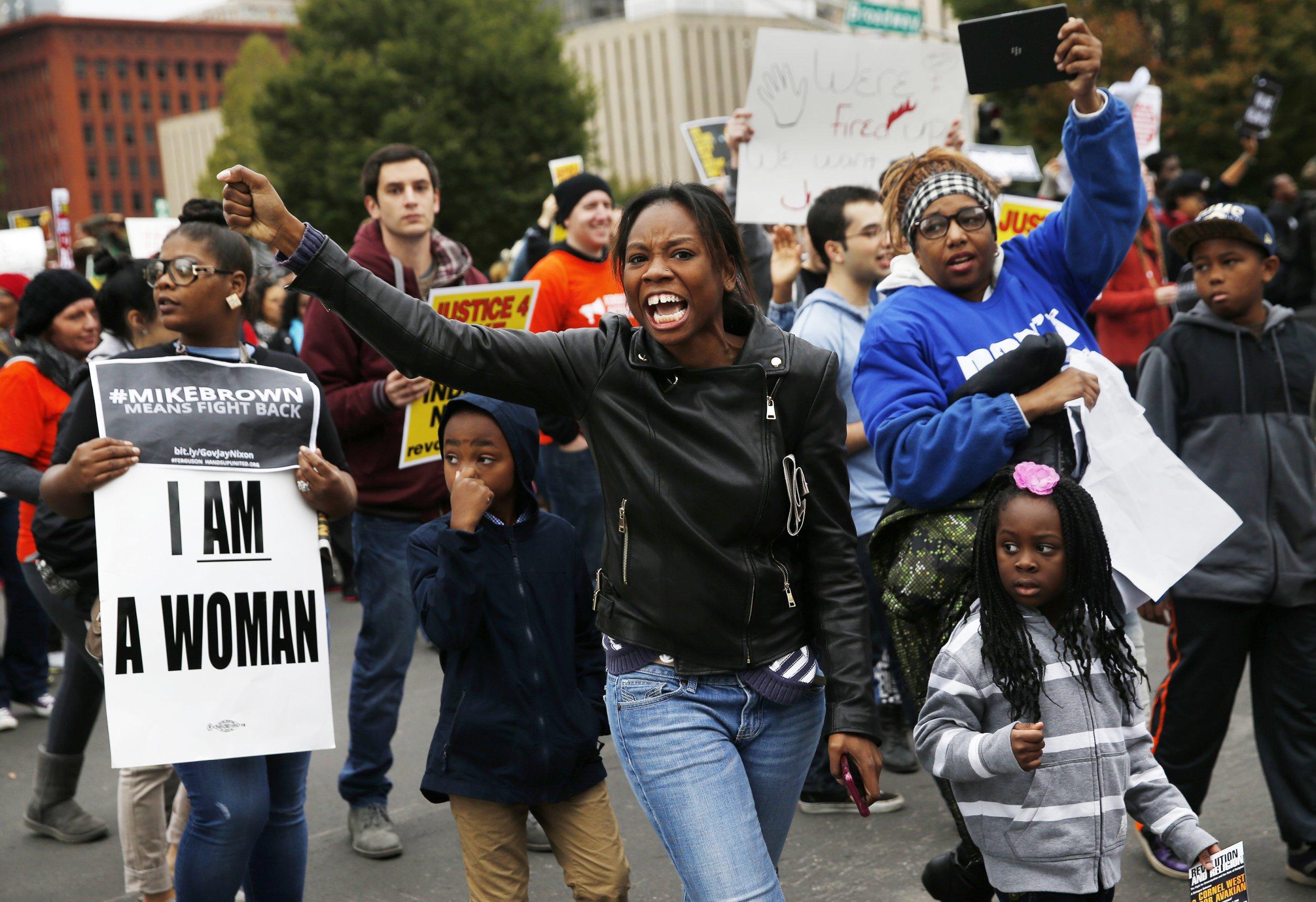 protest stl