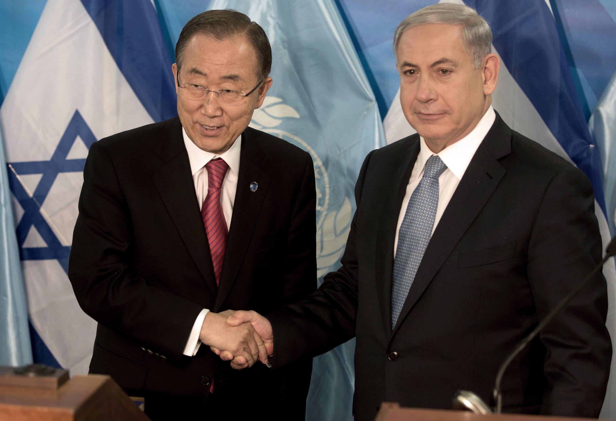 Netanyahu  Ban Ki-moon