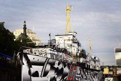 10-13-14 Dazzle Ship Tobias Rehberger