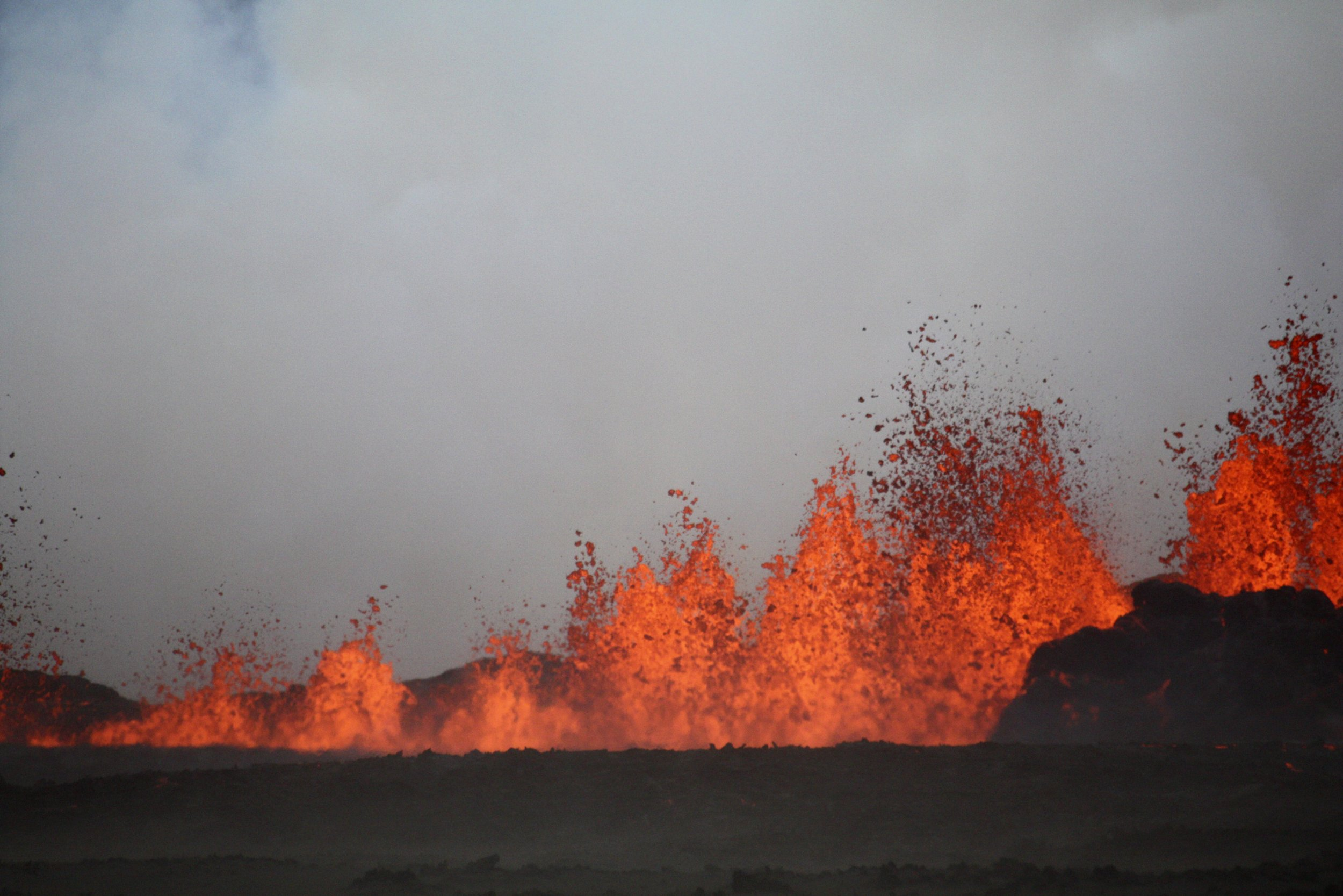 Iceland Is Experiencing Its Biggest Continuous Volcanic Eruption