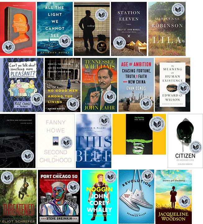 10-15-14 National Book Award finalists