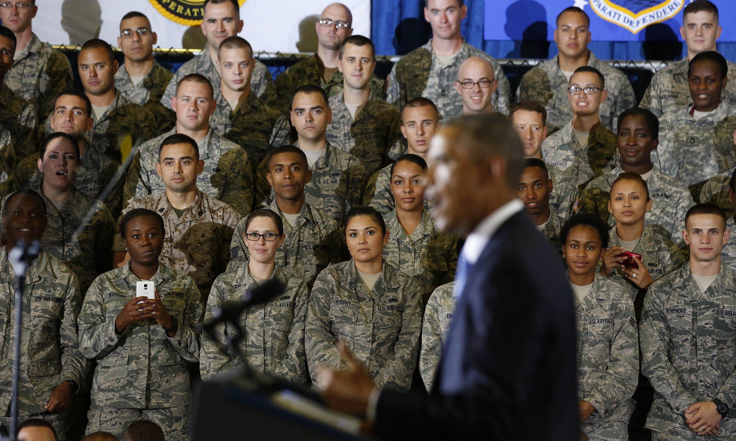 Obama: NO U.S. ground war in iraq