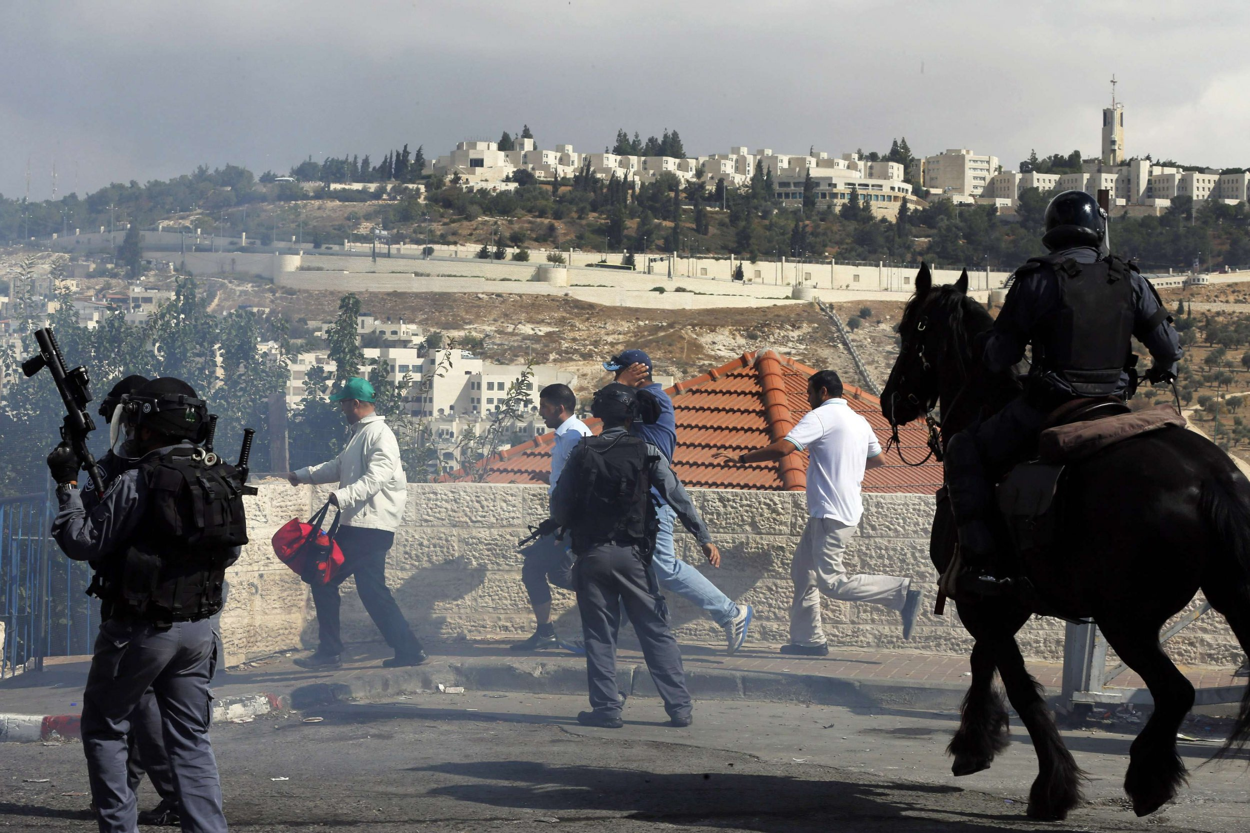 Temple Mount protests