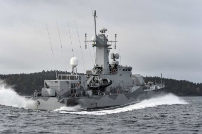 Sweden's search for a Russian Submarine