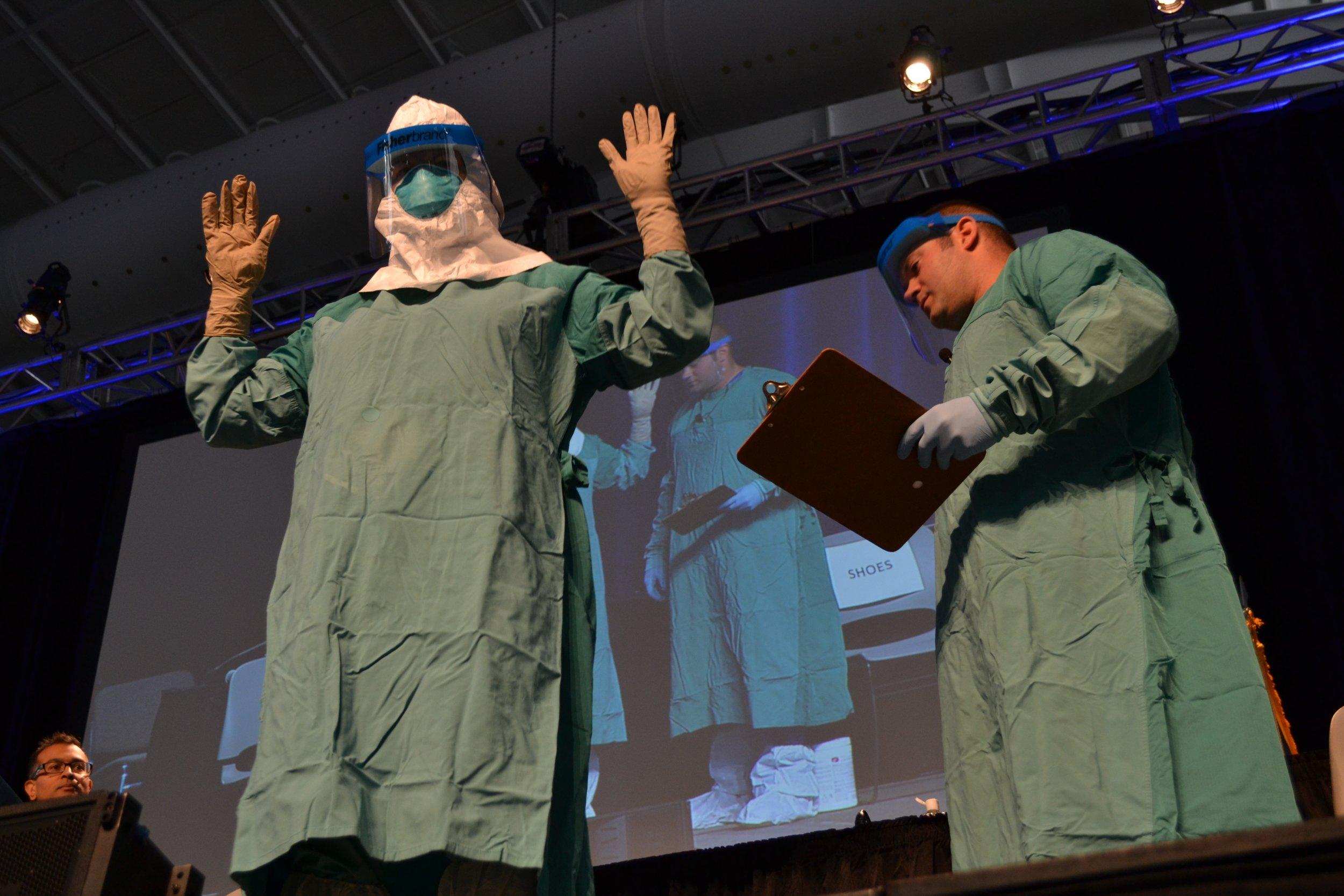 full ebola suit