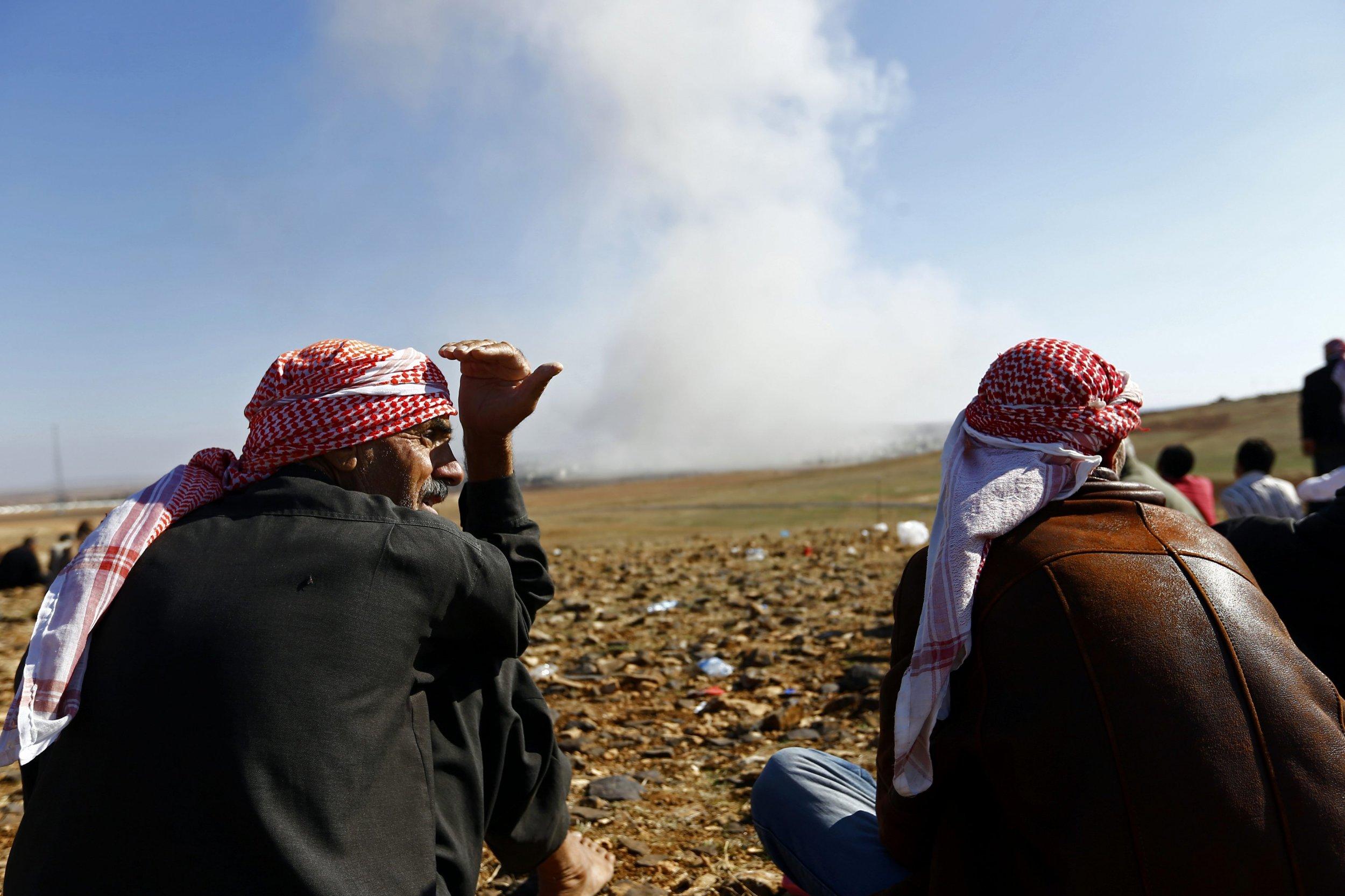 kobani supply drop islamic state
