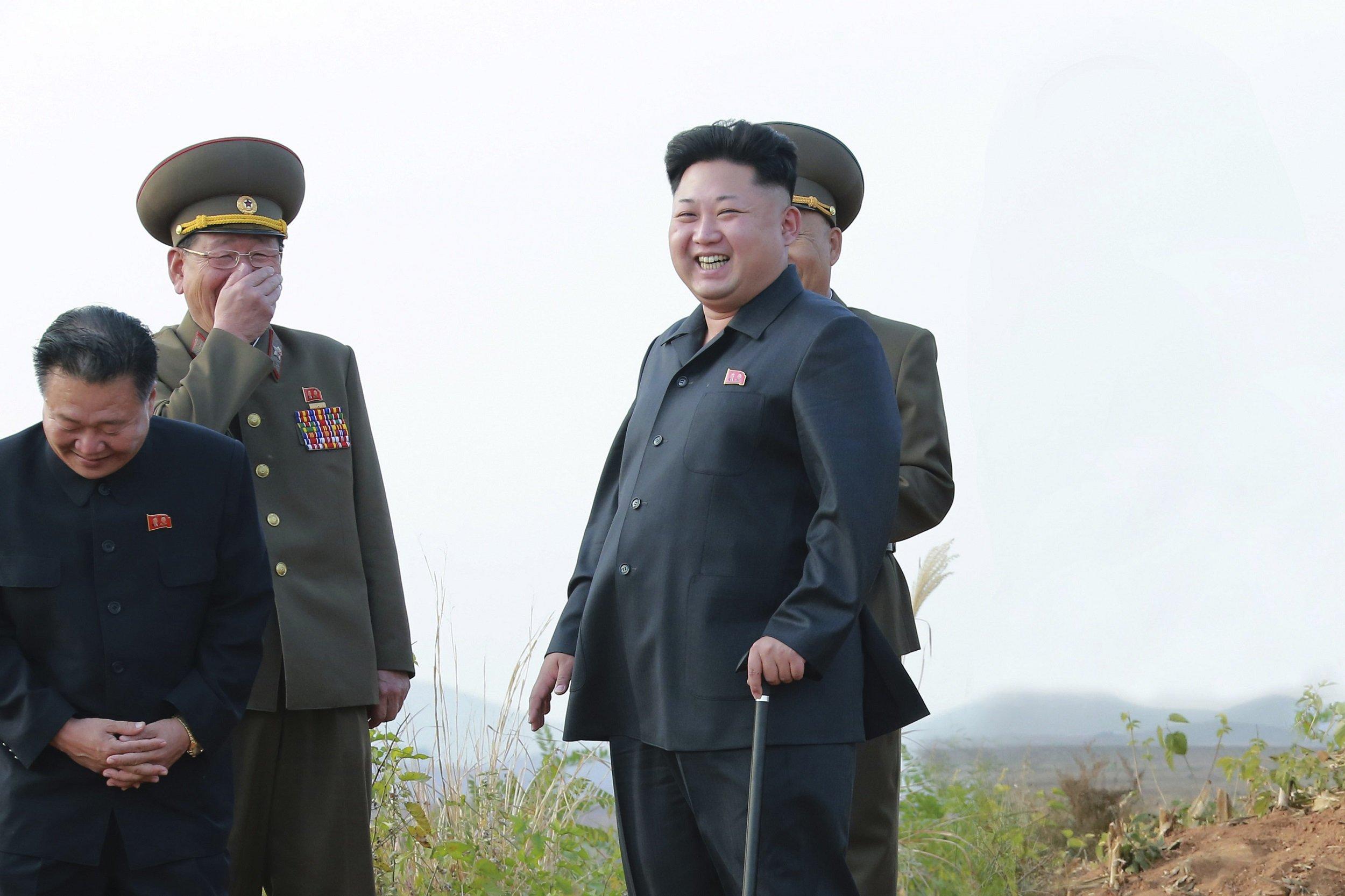 Kim Jong Un cane