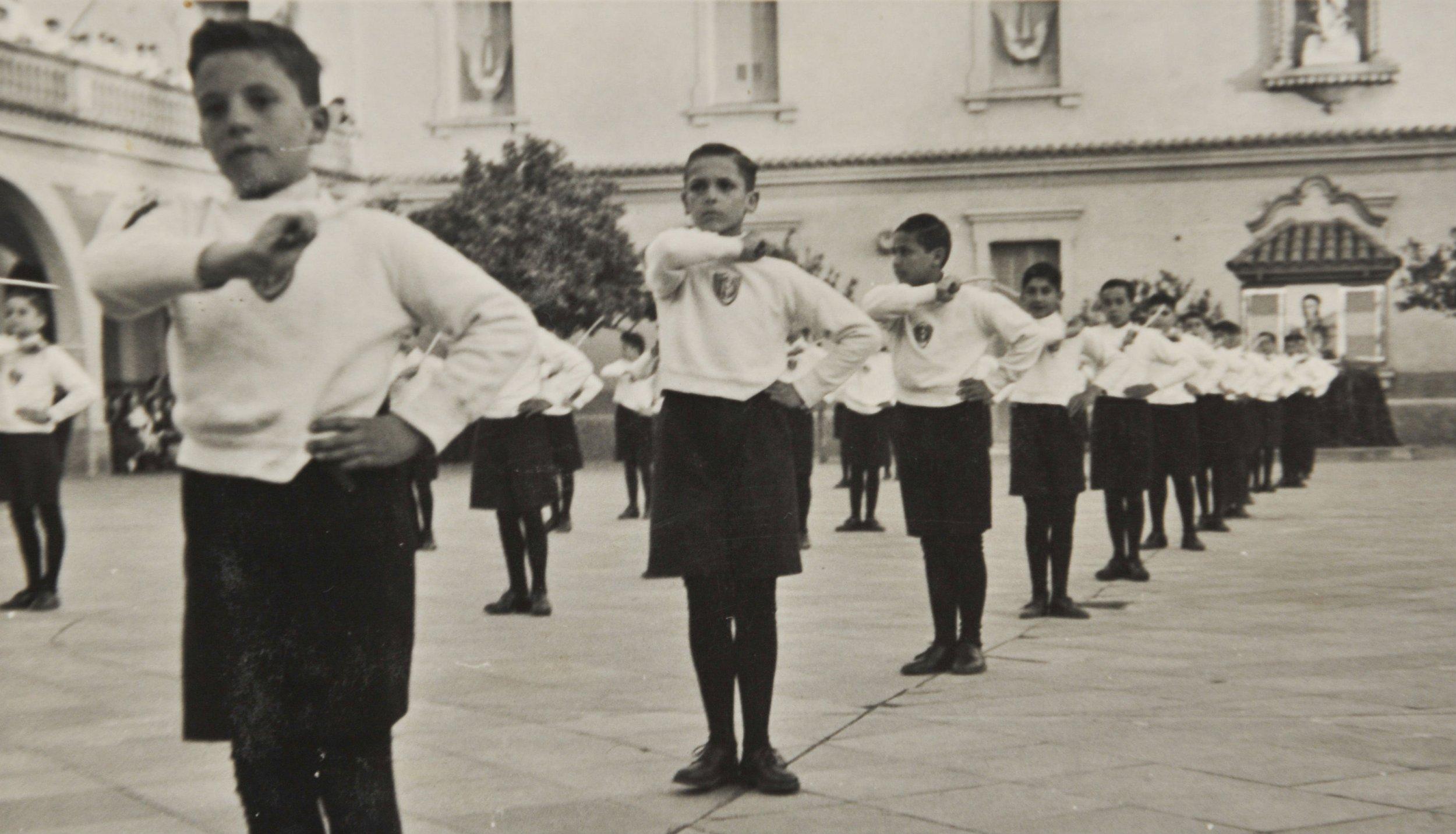 Pope Francis as a schoolboy