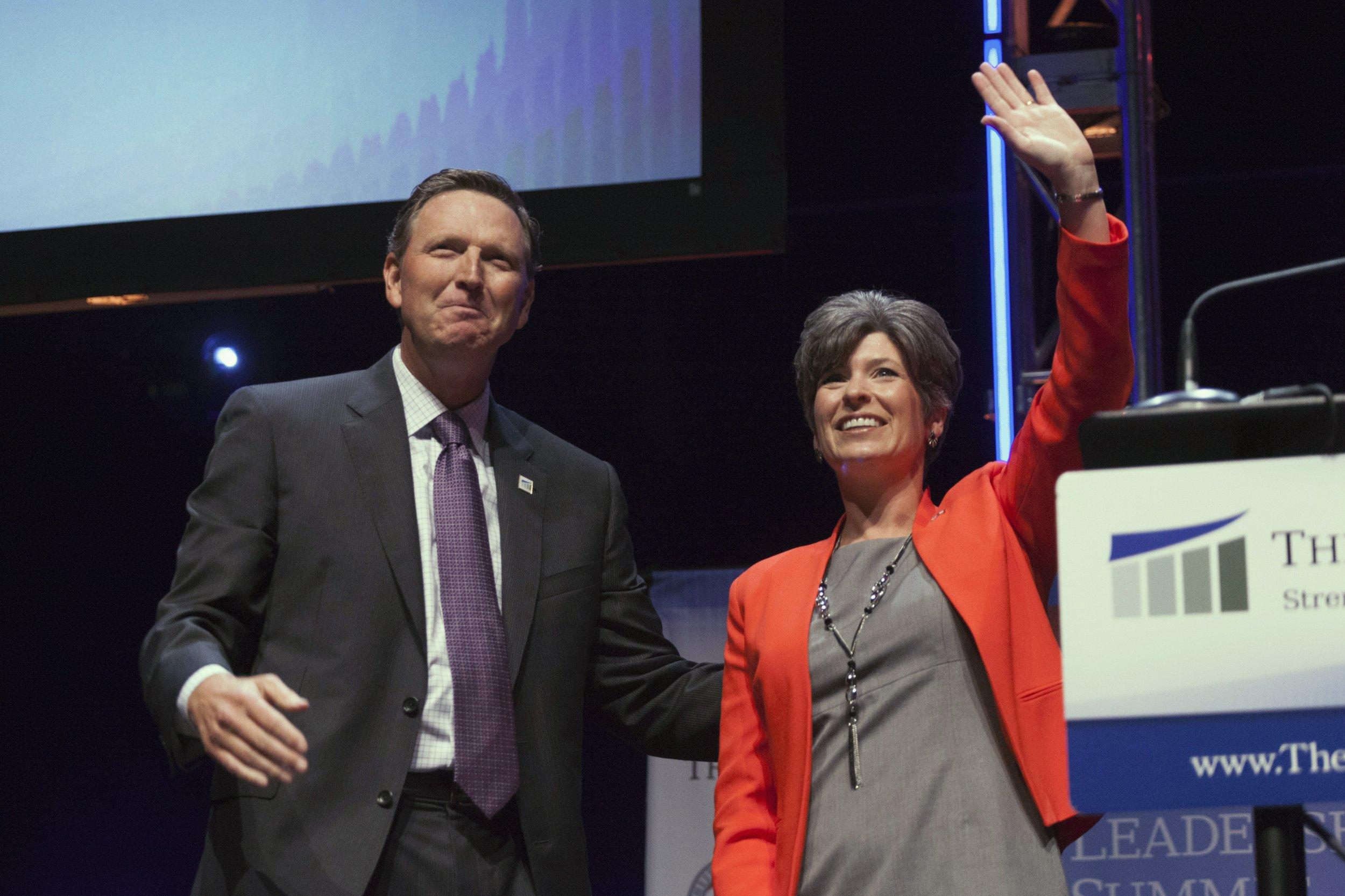 U.S. Senate Candidate Joni Ernst