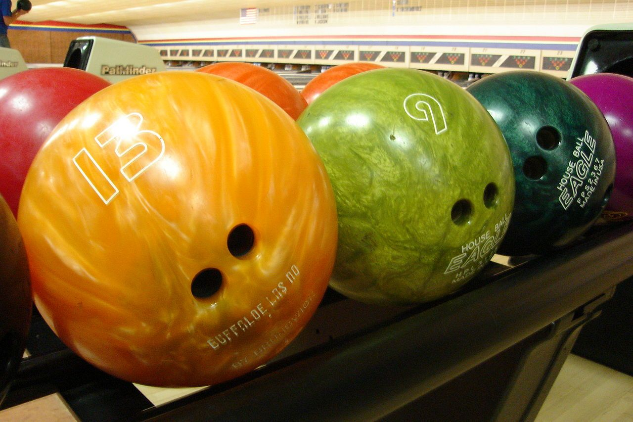 These bowling balls are not going to give you Ebola.
