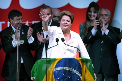 Dilma Rousseff election