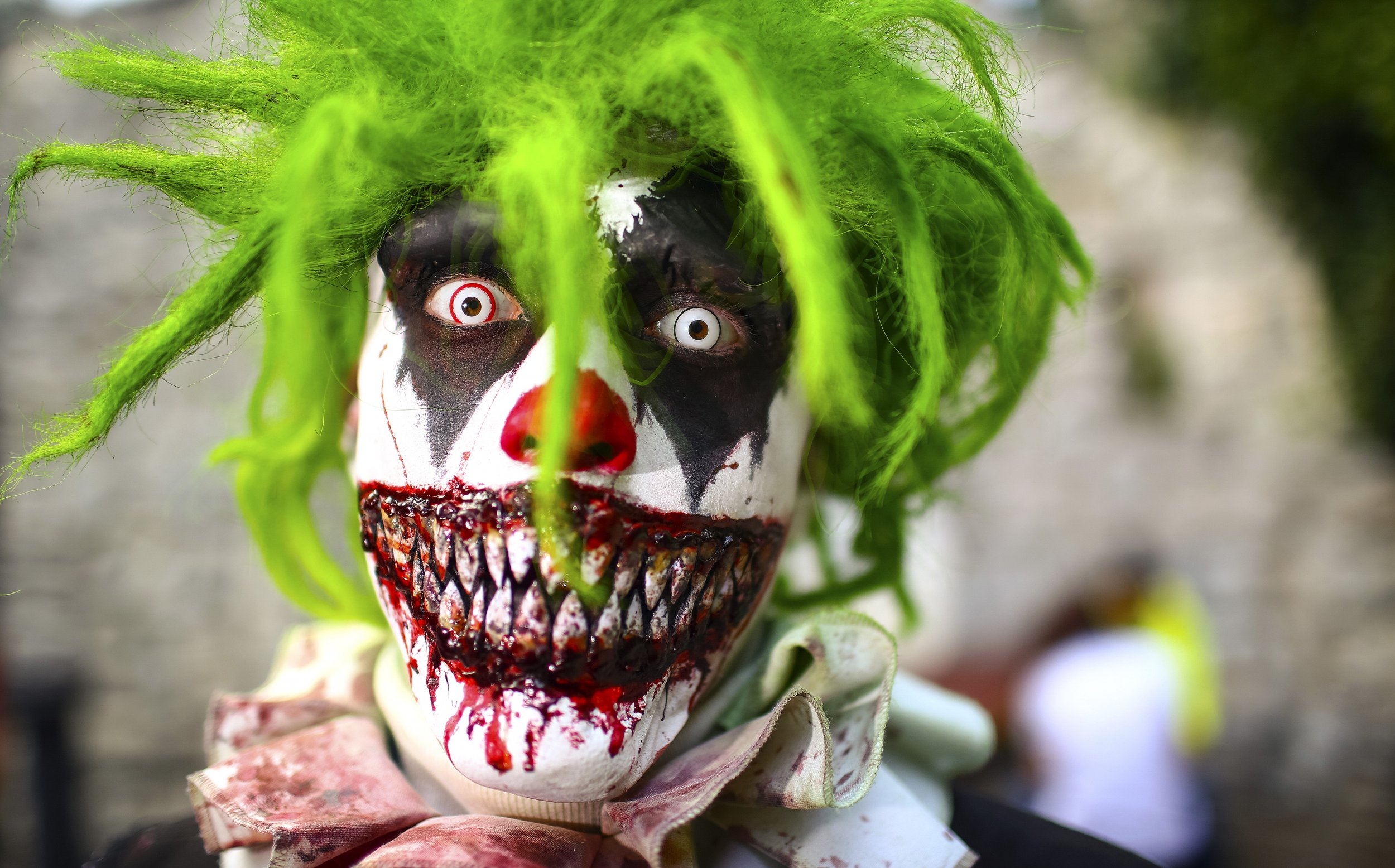 creepy clown sightings why are some so afraid
