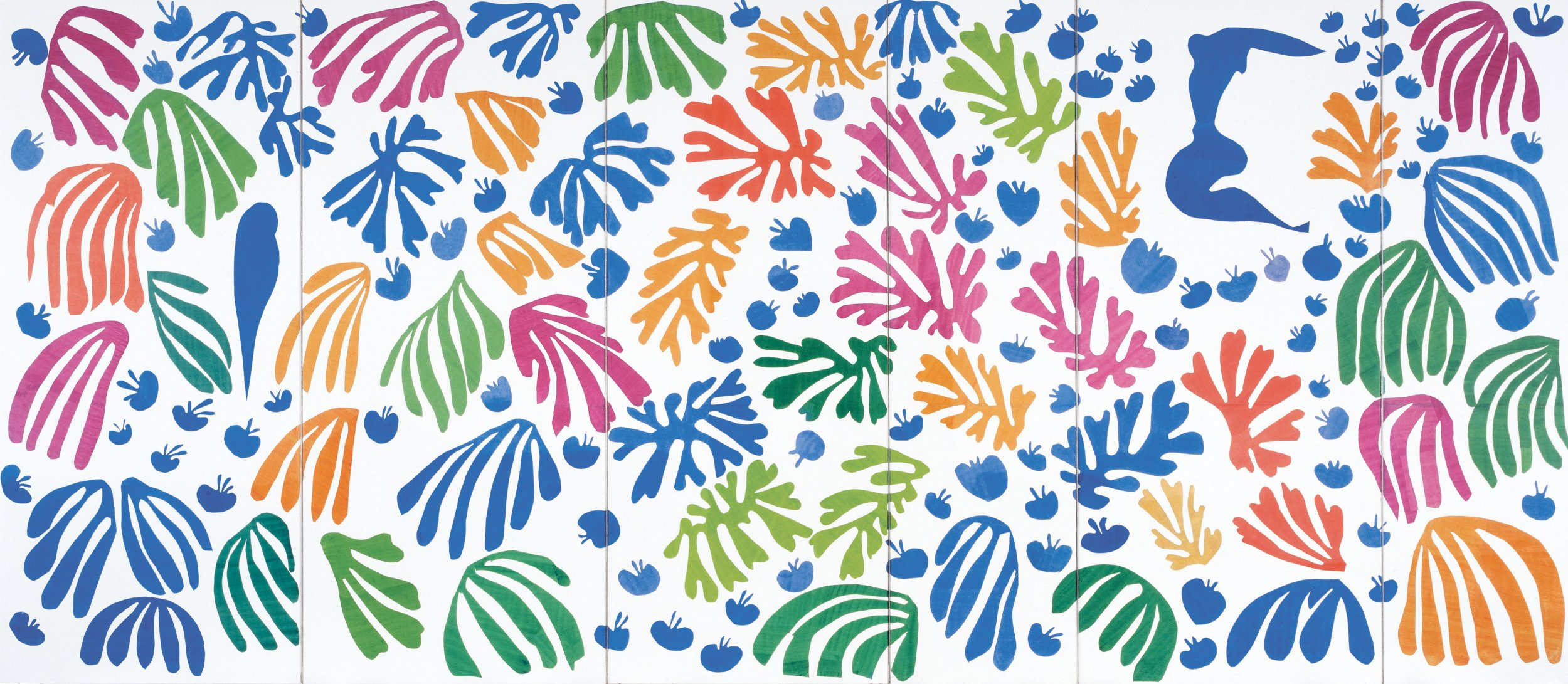 photos henri matisse cutouts the joy of painting with scissors