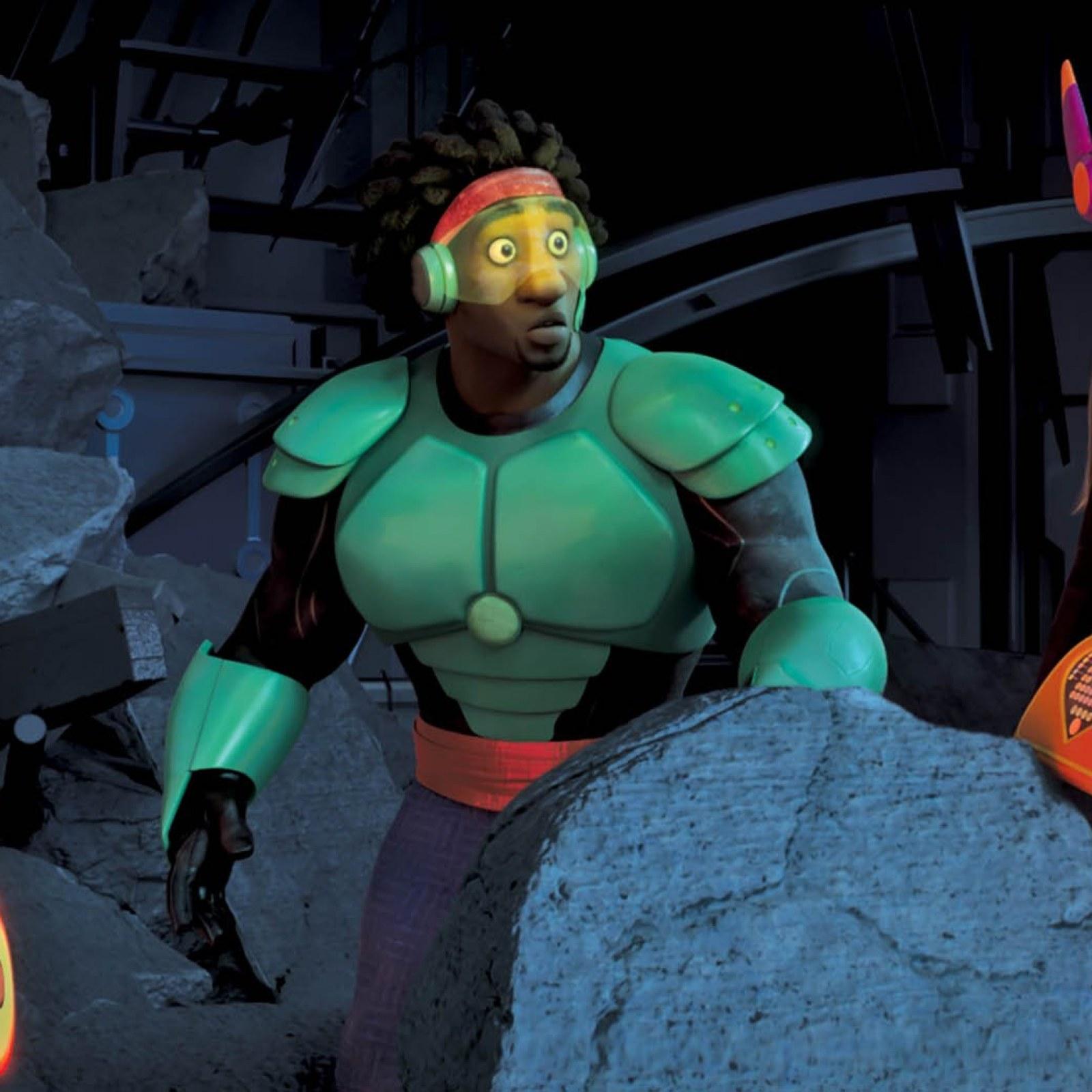 Baymax And Gogo the daredevil diva of disney's 'big hero 6'