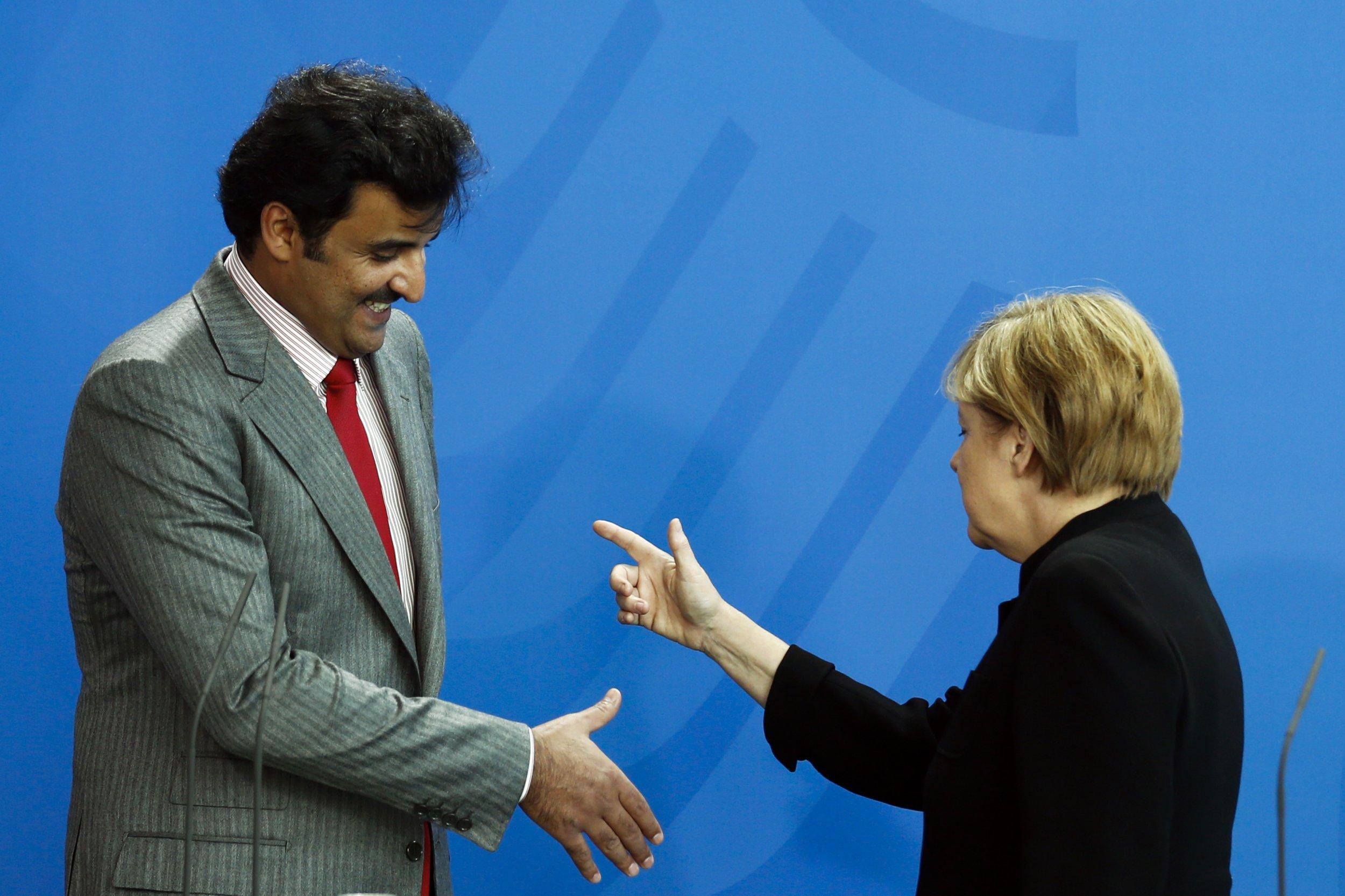 Qatar/Merkel