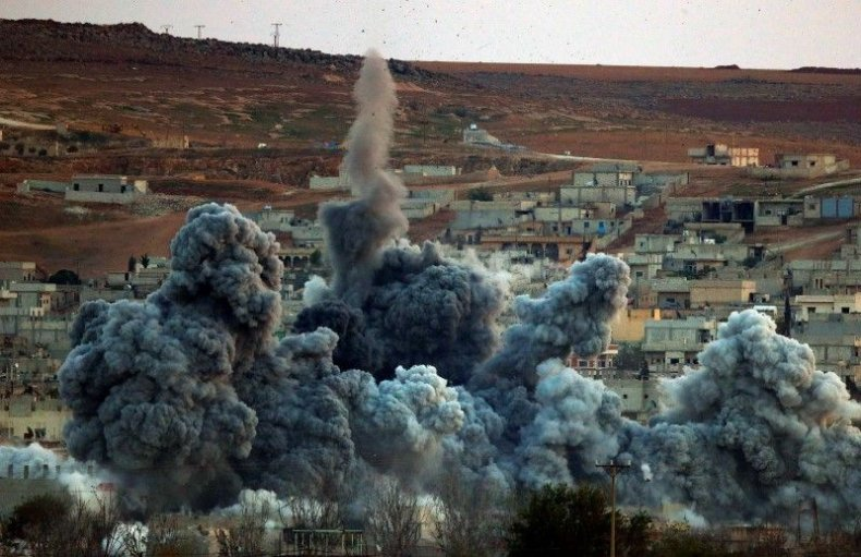 Kobani explosion