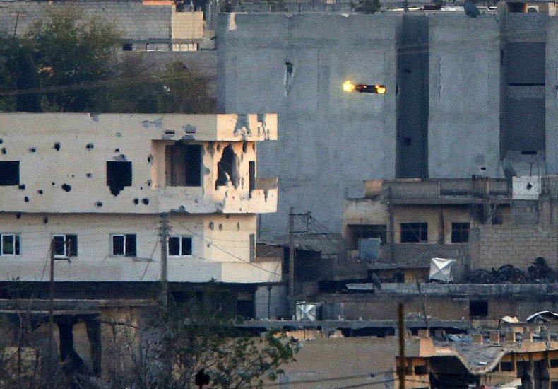 Kobani fighting