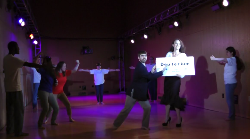 Dance your dissertation competition
