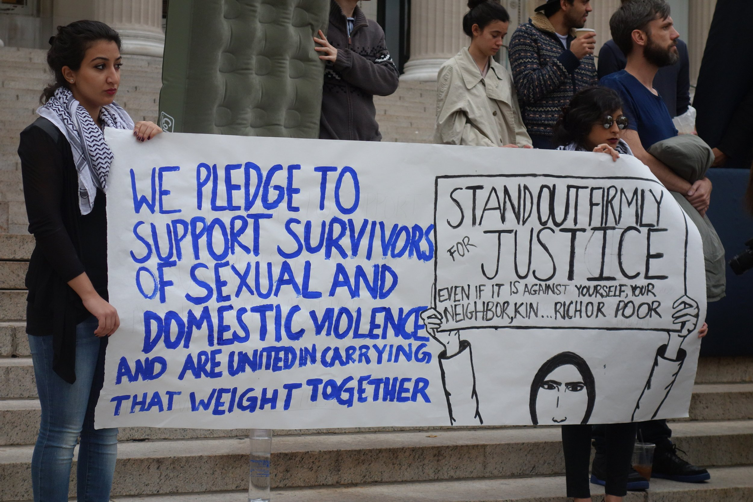 Sexual Violence Protest at Columbia University