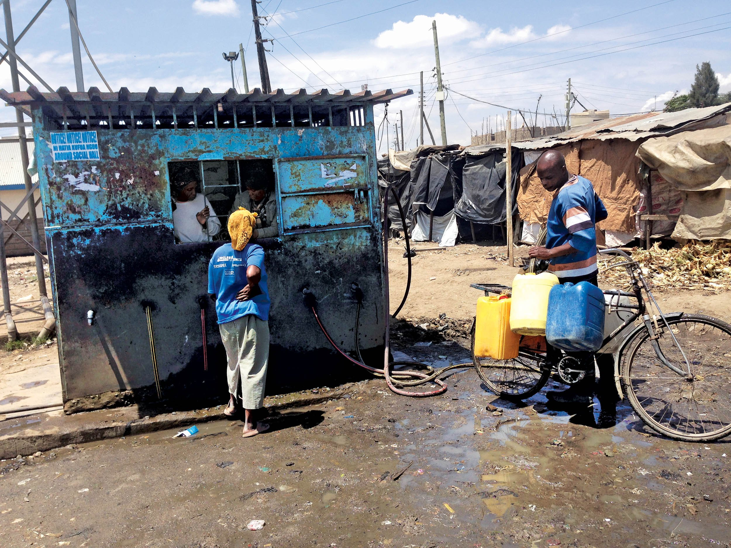 A Water Project Cleans Up Nairobi 39 S Slum