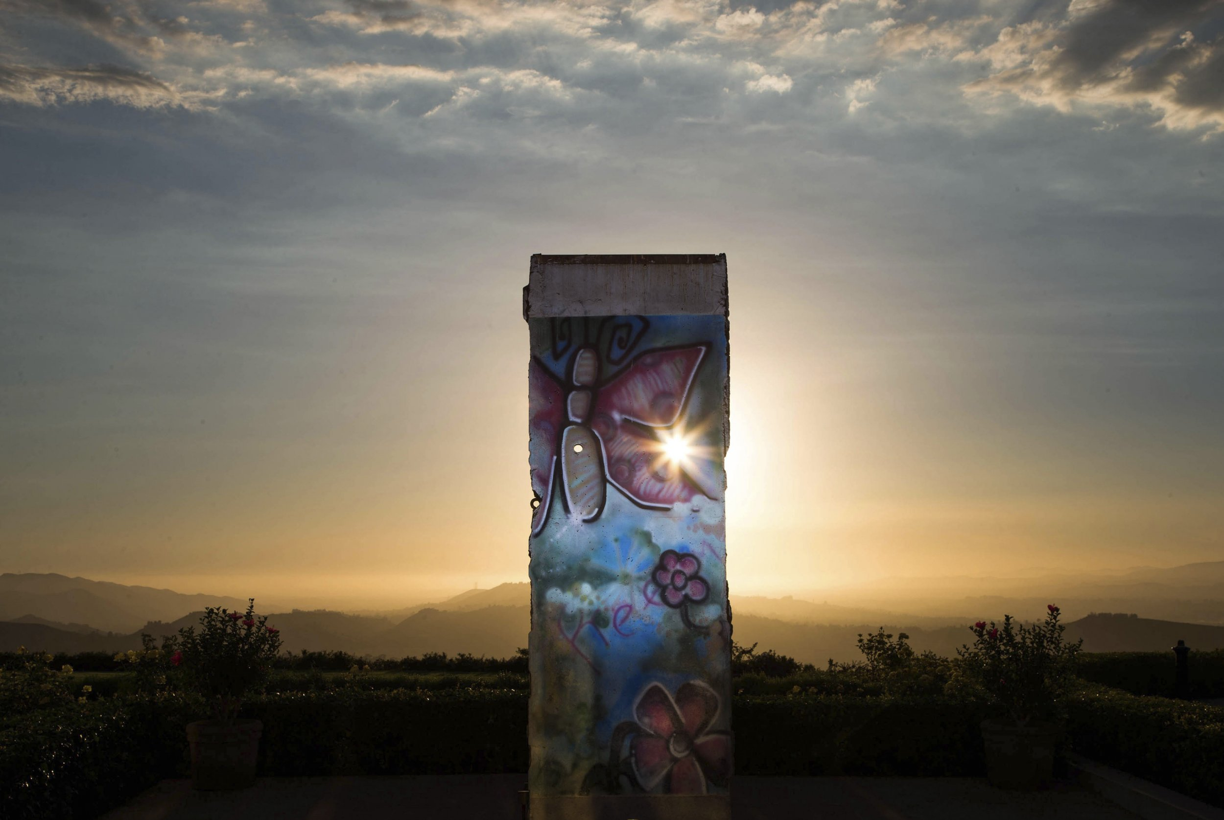11-10-14 Berlin Wall Reagan Library