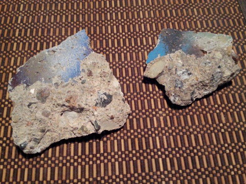 11-10-14 Berlin Wall Della Lana pieces