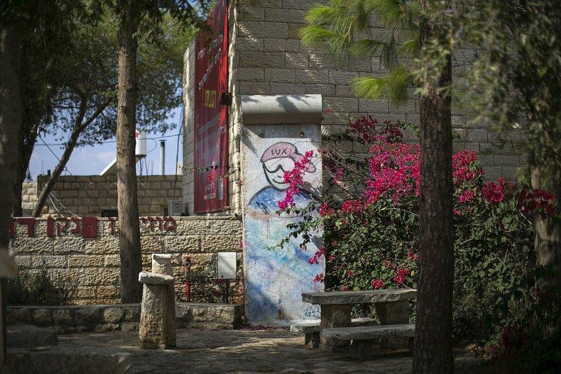 11-10-14 Berlin Wall Haifa