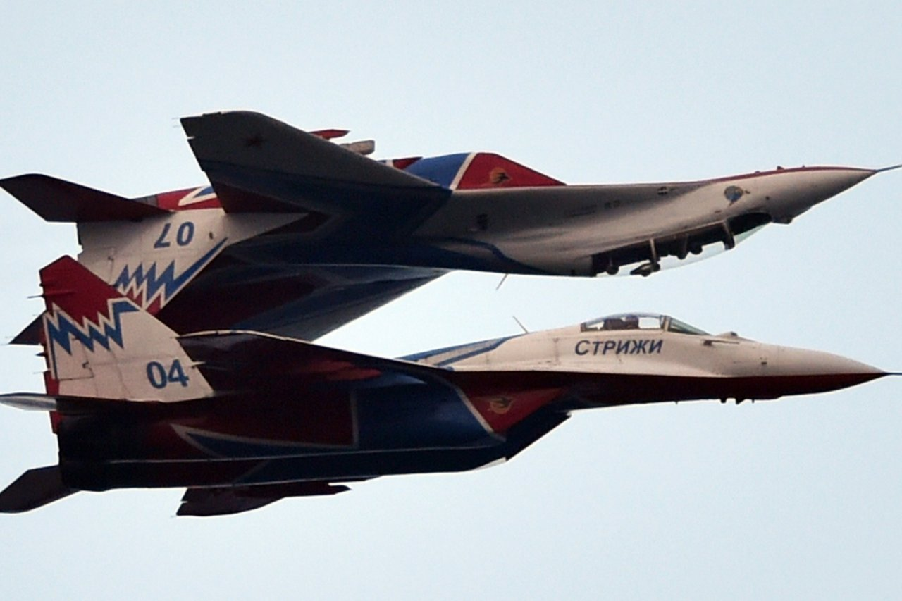Serbian planes