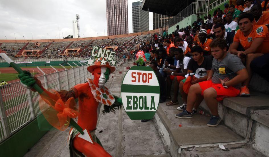 Ivory Coast fan