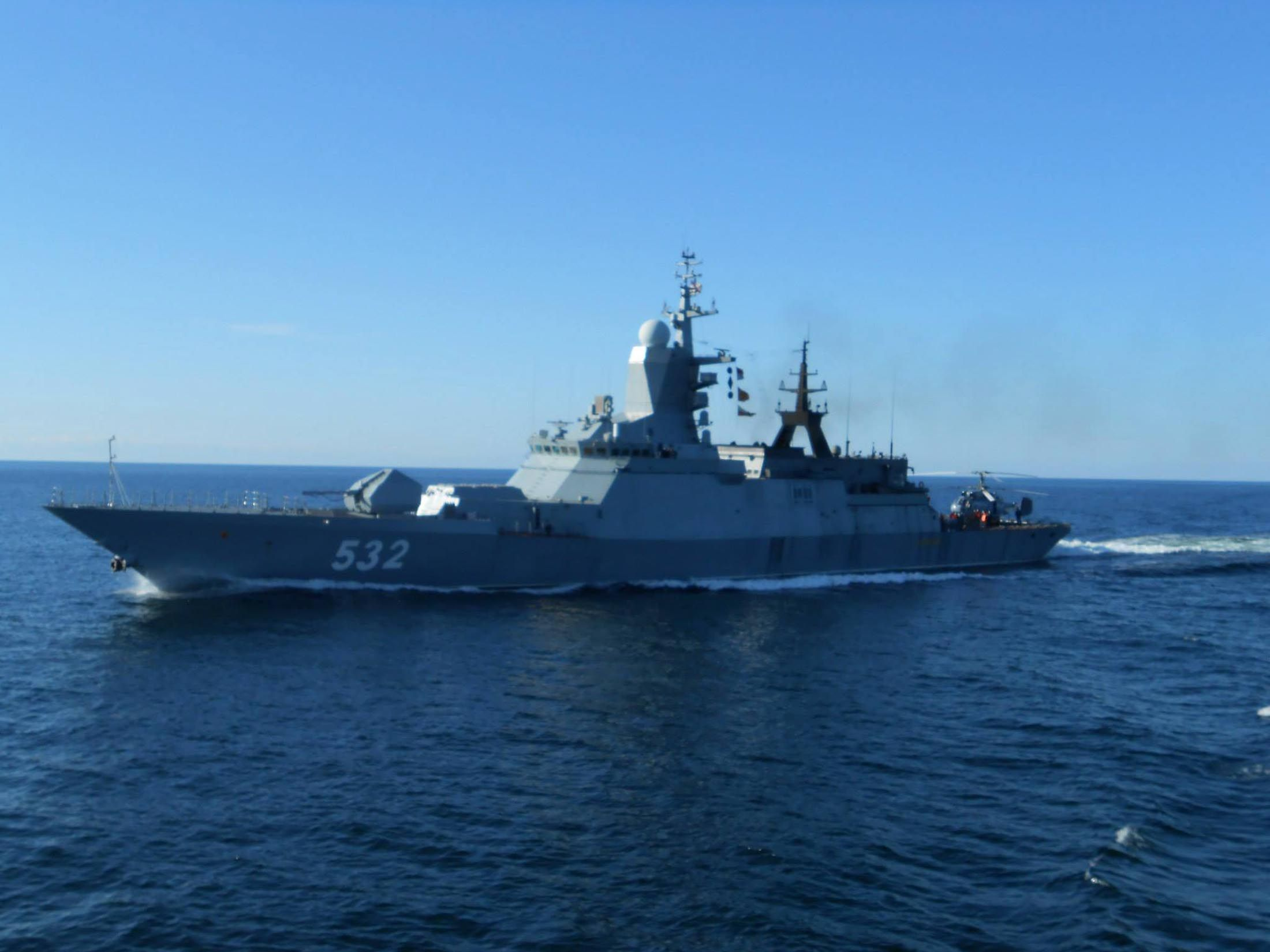 Russian Ship Enters Latvian Waters In Fifth Violation In A
